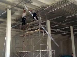 冷库铝排管安装