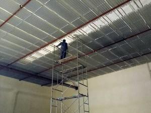 铝排管安装