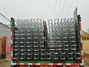 冷库铝排管装车